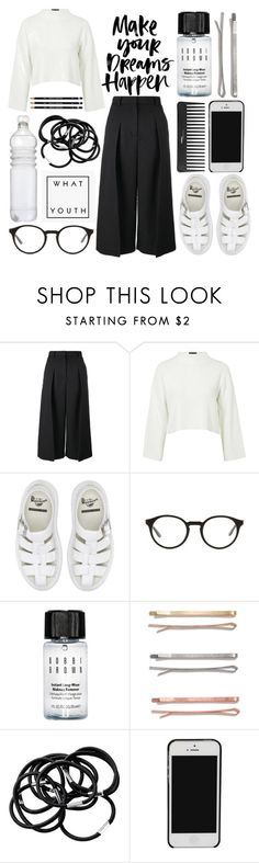 """""""Minimalist Dream"""" by joannechan00 on Polyvore featuring Erdem, Topshop, Dr. Martens, STELLA McCARTNEY, Bobbi Brown Cosmetics, Madewell, Sephora Collection, H&M, women's clothing and women"""