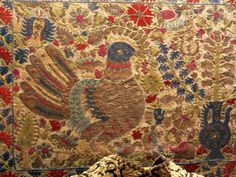Greek Textiles in the Benaki Museum, Athens Embroidery Art, Embroidery Stitches, Benaki Museum, Greek Design, Some Image, Islamic Art, 17th Century, Athens, Fabric Crafts