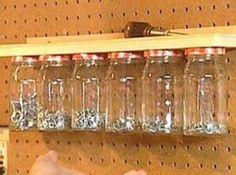 Shed organisation - seeds