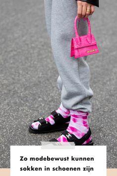 New style | streetstyle | mini bag | socks | sweatpants | girl | woman | fashion | fashionchick | style | styling | gold | black | gold | jacquemus