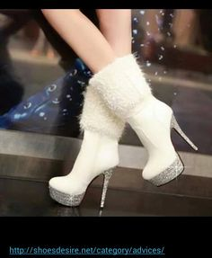 Winter wedding boots!
