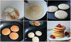 God mandag! Eg har fått en del tilbakemeldinger fra venner, bekjente og lesere at det er så innimari vanskelig å lage perfekte havrepannekaker (eller proteinpannekaker om du vil – eg velger å kalle det proteinrike havrepannekaker. Havrelapper er også eit godt brukt ord)! Kva man legger i ordet perfekte er nok forskjellige fra person til … Pancakes, Nom Nom, Muffin, Lunch, Breakfast, Desserts, Food, Self, Morning Coffee