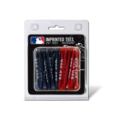 New! Boston Red Sox 50 imprinted tee pack #BostonRedSox