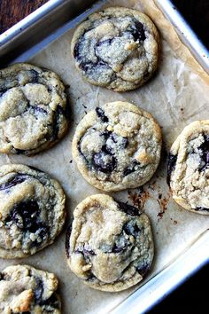 Fine Cooking's Soft and Chewy Chocolate Chip Cookies — still my favorite after 10 years