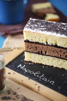 Napolitain maison Sweets Recipes, No Bake Desserts, Cake Recipes, How To Cook Squash, How To Cook Fish, Fun Cooking, Cooking Recipes, Cooking Fish, French Patisserie