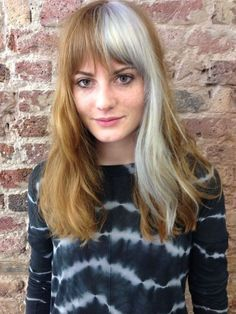 Best Two Tone Hair Color Style