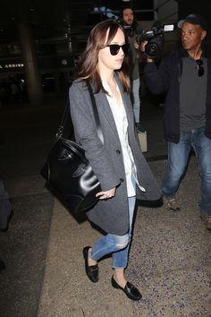 Dakota Johnson's New Airport Bag Is the Perfect First-Class Companion