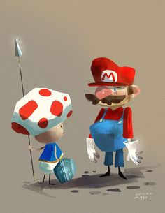 Sorry Mario by Kinopia.deviantart.com on @deviantART