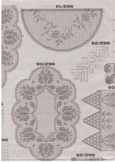 CROCHETANDO COM A ZANI: Toalhas de croche.