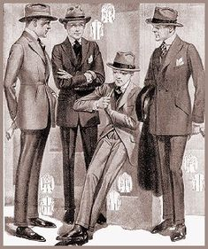 Men's fashion in the 1930s, They don't change too much, not as often as women's fashion