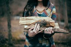 He fell in love with me while studying me collecting fire wood...