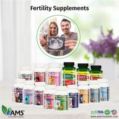AMS provides couples with natural fertility supplements designed to promote reproductive health in both men and women. Check our wide variety of male and female fertility remedies on www.americamedic.com