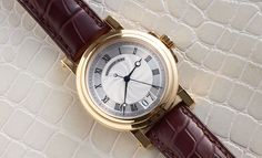 We're willing to bet that when you think of Breguet, the first thing that comes to mind is slim elegance, or maybe the old-world charm of their vintage chronos. But a casual/luxury sports watch? Not so much.    Nevertheless, that's exactly what the Marine 5817 is – Breguet's take on a...