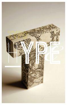 typographic hype // Tom Davie: Typographic Posters