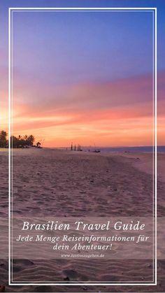 Du möchtest zum Kitesurfen nach Brasilien und bist auf der Suche nach den besten Kitespots oder Infos zu Unterkünften? Schau dir meinen Brasilien Guide an! #Brasilien #Guide #Südamerika #Kitesurfen