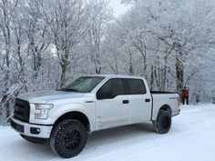 lifted white f150 black wheels trucks i like and truck stuff rh pinterest com