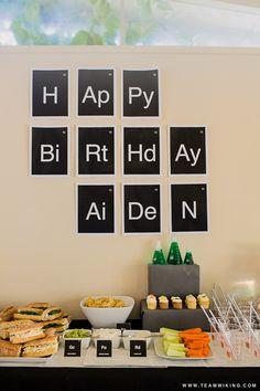 Science Birthday Party #PartyToGo
