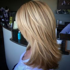 Haircuts For Medium Hair, Medium Hair Styles, Short Hair Styles, Pretty Hairstyles, Straight Hairstyles, Straight Layered Hair, Corte Y Color, Long Hair Cuts, Big Hair