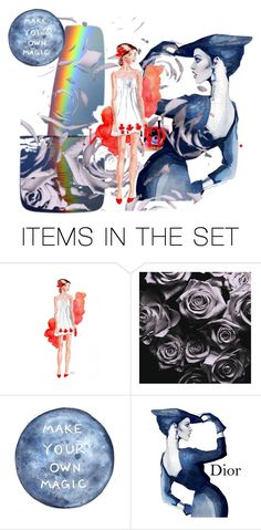 """""""DIY"""" by aqualyra ❤ liked on Polyvore featuring art and Collage"""