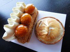 Saint Honore and tarte au citron