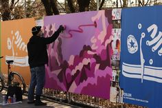 """Streetart: Converse – """"Just Add Color"""" (12 Pictures"""