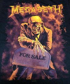 Vic Rattlehead. Megadeth