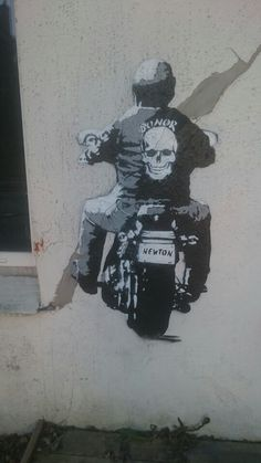 Street Art around the Old Town Bergen May 2016 - Ian Hardacre Bergen, Old Town, Graffiti, Old Things, Batman, Superhero, Fictional Characters, Art, Superheroes