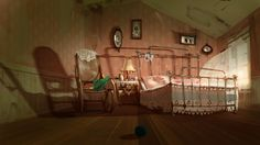 Concept Art 3D Animation Movie by Juan Francisco Cancelleri, via Behance