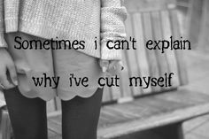 Self-Injury Cutters | depression self harm cutting scars self injury journal chaos-and ...