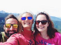 selfie from the top of Parmelan