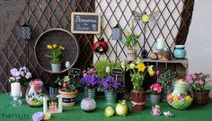 DIY Spring decoration - Atelier Déco printannier #deco #printemps #PartyLite #atelier #spring