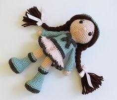 Ravelry: Amigurumi Doll Lital Doll pattern by anat tzach