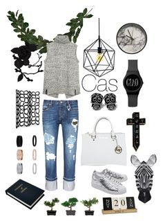 """""""Untitled #49"""" by em-jay-i ❤ liked on Polyvore featuring Fat Face, Tortoise, adidas Originals, Michael Kors, NoHours, Christopher Guy, olgafacesrok, Crystal Art, Sloane Stationery and Nearly Natural"""