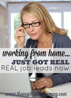 Work From Home Job Leads – Updated Daily