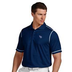 NFL Tennessee Titans Men's Icon Desert Dry Polo  https://allstarsportsfan.com/product/nfl-tennessee-titans-mens-icon-desert-dry-polo/  Team logo embroidered on the left chest Desert Dry Polo Moisture management polo