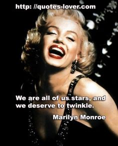 We are all of us stars, and we deserve to twinkle. #Stars #picturequotes View more #quotes on http://quotes-lover.com