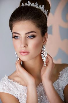 Find bride makeup stock images in HD and millions of other royalty-free stock photos, illustrations and vectors in the Shutterstock collection. Bridal Hair And Makeup, Bride Makeup, Wedding Makeup, Parisian Wedding, Glamorous Wedding, Dream Wedding, Wedding Girl, Stunningly Beautiful, Beautiful Bride
