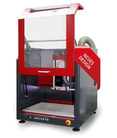 CNC Maschine ICV | im völlig neuen Design!: wartungsfreie EC-Servomotoren…