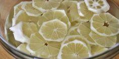 Domácí citronový sirup