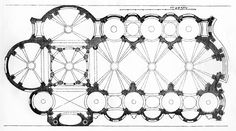 plan for an unnamed church, guarino guarini Castle Floor Plan, Test Plan, Baroque Architecture, Kirchen, Planer, Architectural Models, Architectural Drawings, Ceiling Lights, How To Plan