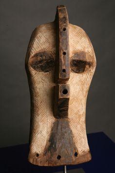 LUBA, D.R. Congo, Kifwebe mask. 42cm high
