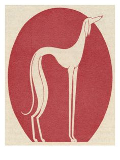 Cool greyhound print