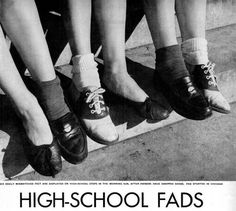 FROM LEFT: Flats, Penny Loafers and Saddle Shoes. Must own footwear for girls. Vintage Fur, Vintage Shoes, Retro Shoes, Penny Loafers, Baile Jazz, 1950s Shoes, Maleficarum, Bobby Socks, Saddle Shoes