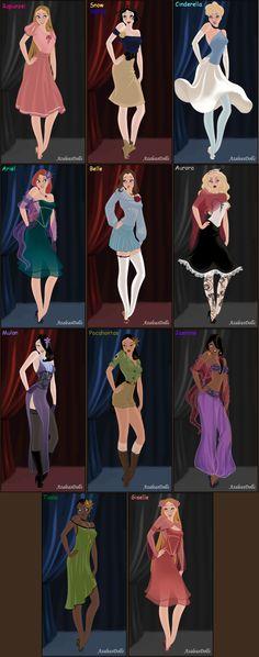 Image detail for -jessica as disney princess by shokka chan fan art cartoons comics ...