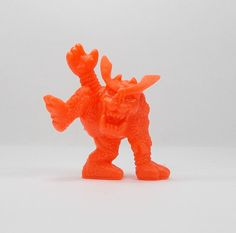 Monster In My Pocket - Series 1 - 23 Hobgoblin - Neon Red - Mini Figure