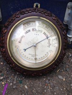 # star lot # vintage negreti zambra Barometer will be sold tomorrow