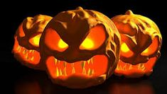 Pumpkin Carving Patterns and Halloween Pumpkin Carving Designs - Real Time - Diet, Exercise, Fitness, Finance You for Healthy articles ideas Scary Pumpkin Faces, Scary Halloween Pumpkins, Halloween Witch Decorations, Spooky Pumpkin, Cute Pumpkin, Pumpkin Ideas, Halloween Ideas, Halloween 2019, Halloween Stuff