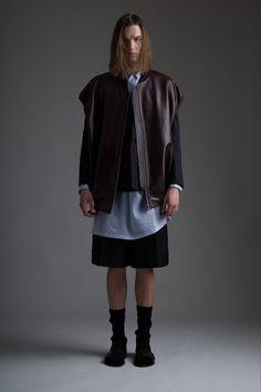 Hed Mayner Leather Vest