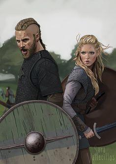 Vikings by saravami.deviantart.com on @deviantART