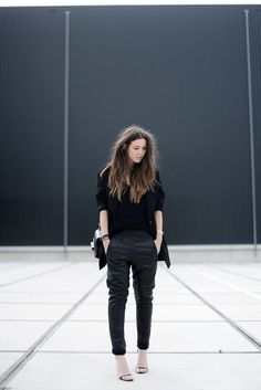 OUTFIT / THE OVERSIZED BLAZER | COTTDS www.redreidinghood.com